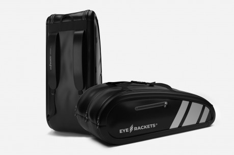 Eye Racket Bag 9R (Black/Light Grey) Squashtaske