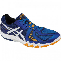 Asics Gel-Blade 5 (Blå/Hvid/Orange)