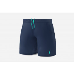 Eye Shorts (Navy/turquoise)