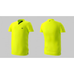 Eye Performance Line V-Neck (Neon Yellow with Black)