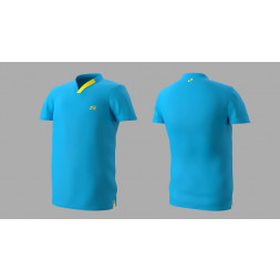 Eye Performance Line V-Neck (Blue/yellow)