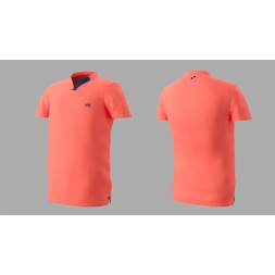 Eye Performance Line V-Neck (Peach/Navy)