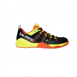 Salming Kobra Squash Shoe (Black/Shockorange)