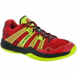 Salming Race R1 3.0 Squashsko (Red / Safety Yellow)
