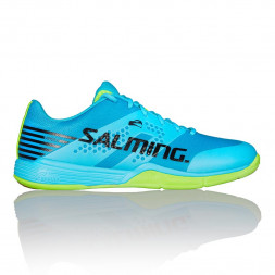 Salming Viper 5 (Light Blue/Fluo Green) Squashsko