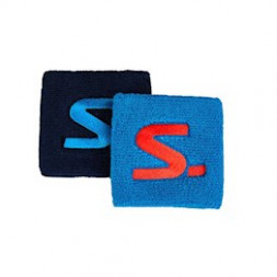 Salming Wristbands (2-pak, Blue/Navy)