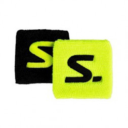 Salming Wristbands (2-pak, Yellow/Black)