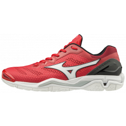 Mizuno Wave Stealth V Indoor Court Squashsko (Red)