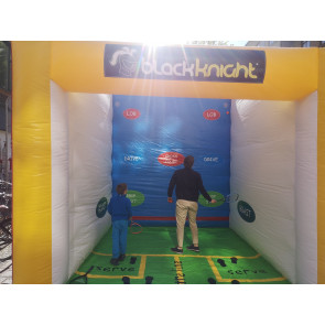 Black Knight Inflatable Squash Court
